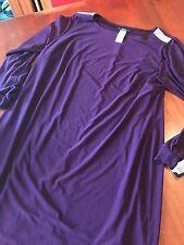 NWT MSK WOMEN - LUXE PLUM BODICE TOP - 14W AWESOME DRESS - RTL $79