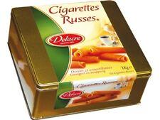 (11,99€/1kg) Delacre Cigarettes Russes Waffelröllchen Riesendose Waffelrollen
