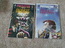 Predator versus Magnus Robot Fighter #1 & #2 (lot of 2) - Dark Horse comic book