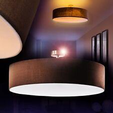 Design Deckenlampe Lampe Deckenleuchte Zimmer Leuchte Deckenstrahler Stoff braun