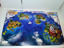 EB games Exclusive Pokemon Sun and Pokemon Moon Double Sided Poster