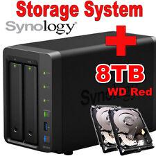 8TB--2x4TB--Synology-Disk-Station-DS718+-Netzwerkspeicher-Gigabit NAS-System