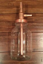 Alcohol Distiller Moonshine Hanging Jar Thumper DIY Kit 100% copper cap Quart