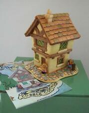 Pendelfin Village Cobble Cottage House Stoneware Uk Nib Rabbit Town