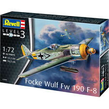 Revell Focke Wulf Fw 190 F-8 Level 3 Scale 1:72 Plane Model Kit 03898 NEW
