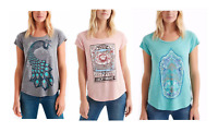 NEW Lucky Brand Womens Graphic Tee VARIETY Short Sleeve NEW PATTERNS & COLORS