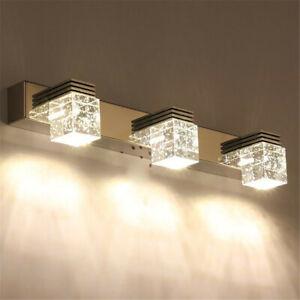 3/6/9W Modern LED Light Bathroom Fixture Lighting Wall Mirror Lamp Sconce Light