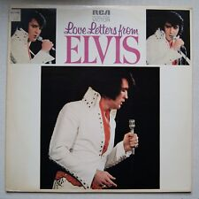 Elvis Presley Love Letters From Elvis LP (RCA LSP-4530) Tan Label USA Pressing