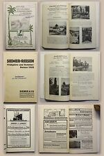 Broschüre Siemer & Co Verkehrs-Gesellschaft Reisen 1928 Reklame Reiseprospekt xz