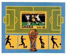Ghana 1984 SC# 878 World Football Champion Soccer - Imperf S/S Surcharged - MNH