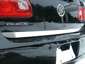 FITS BUICK LUCERNE 2006-2011 STAINLESS STEEL CHROME REAR DECK TRIM