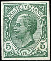 Regno d'Italia 1906 n. 81e ** varietà (m568)