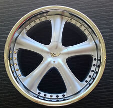 "20"" BLANK AME MODELART STYLE ALLOY MAG WHEELS SUIT FORD, C/DORE, JAPANESE CARS"