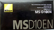 Nikon MS-D10EN EN-EL3E Battery Holder for MB-D10 w/case