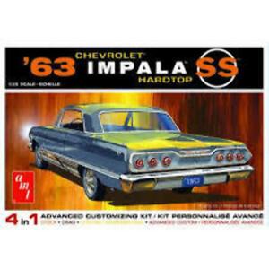AMT 1/25 1963 Chevy Impala SS 2T Plastic Model Kit