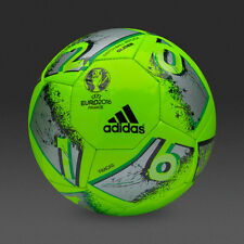 New Adidas Euro Cup 2016 Match Ball Replica Size 5-Green Soccer ball Football