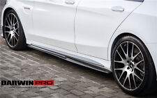 W205 Mercedes Benz C43 / C63 Sedan AMG DP Style Side Skirt Splitter Extensions