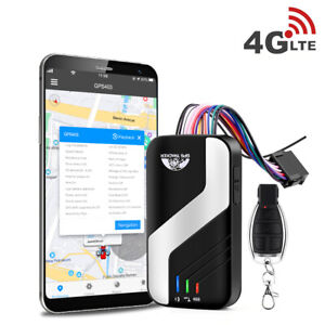Car GPS Tracker 4G LTE FDD Vehicle Voice Monitor Cut Oil ACC SOS Door Open Alarm