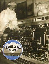 Le Bulletin PLM n°37 Janvier 1935 - La Corse - La Chasse Le Chamois -