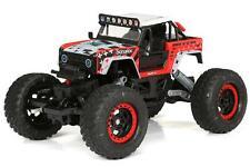 Bright Rc 115 Radio Control Ford Bronco Rock Crawler 24 Ghz Usb Red New