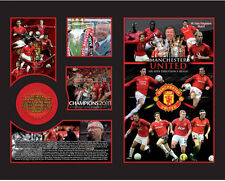 New Manchester United Limited Edition Memorabilia Framed