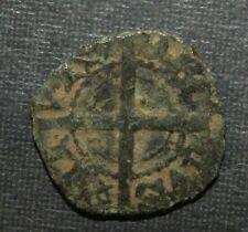 Medieval Billon Silver Coin Lot 1300-1400's Crusader Templar Long Cross Ancient