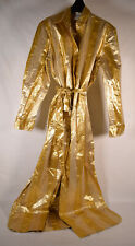 Forte Forte Womens Dress Shirt Button Down Belted Gold Metallic Size 1 New
