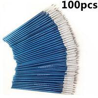 Paquete de 100 pinceles de pintura micro extra Pro Art Craft Brushes Set