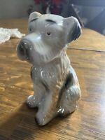 "Vintage Cute Ceramic 6"" Terrier Dog Figurine Made In Brazil"