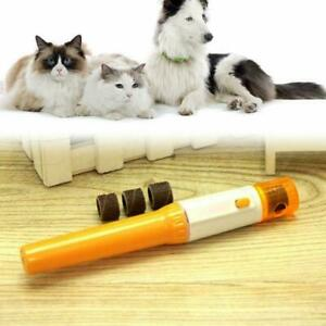 Professional Pet Dogs Cat Nail Trimmer Grooming Tool Clipper Grinder Prof