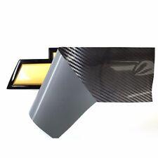 2 Sheets Long Lasting Vinyl for DIY Chevy Emblem Overlay 5D Carbon Fiber