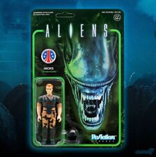 ALIENS Hicks ReAction Figure Limited Edition 80's SciFi Movie Cult Classic Army