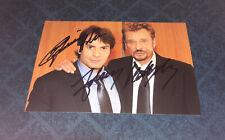 Johnny Hallyday Dedicace Autograph Christophe Dominici