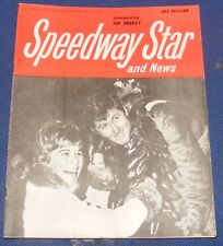 Speedway Star Magazine & News W/E 10th September 1965