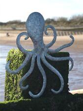 Tin Octopus Wall Hanging Art | Coastal Decoration by Shoeless Joe