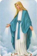 Magnet Hl Maria Mutter Gottes Immaculata Gnadenspenderin Holz 6 x 4,5cm MAG 4023