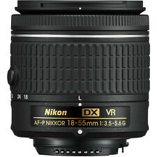 Nikon AF-P 18-55mm f/3.5-5.6G DX VR NIKKOR Zoom Lens w/ Lens Cleaning Kit