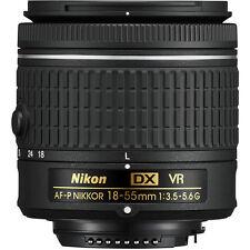 Nikon AF-P 18-55mm f/3.5-5.6G DX VR NIKKOR Zoom Lens w/ Lens Cleaning Kit