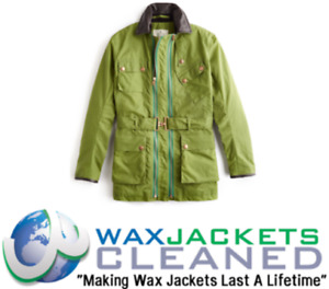 Clean & Rewaxing Service for Private White Wax Jackets All Makes Sizes Colours