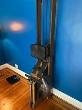 Water Rower Machine Classic Black Walnut with Pro Series 4 Barely Used