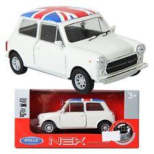 WELLY 1:34 Mini Cooper 1300U-F / Ivory / Toy / DIE-CAST Toy Model cars