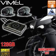 Bike camera MotorCycle Dual MotorBike Dash Car 1080P Waterproof Hardwired Kit