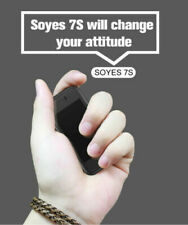 World's Smallest Unlocked Soyes 7S Mini Smartphone Dual Sim Android TouchScreen