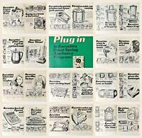 Vintage 1970s Commercial Art: 24 Page Booklet of Korvettes Advertising Mock-Ups