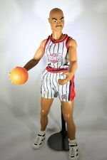 "CHARLES BARKLEY - Starting Lineup 14"" figure - 1997 Houston Rockets - LOOSE"
