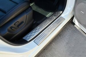 Complete Door Sill Panel Scuff Plate Kick Step Plate Protect for Mazda CX5 12-17
