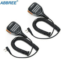 2X Rainproof Speaker Mic for Kenwood Baofeng BF-F8HP UV-5R 82 TYT Two Way Radio
