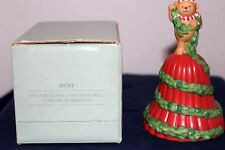 "1991 Avon Christmas Bell ""Garland of Greetings"" - Pre owned/Vgc"