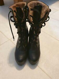 Platform Boots  Gothic Punk Size 5