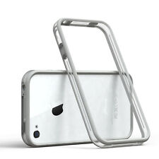 Bumper für Apple iPhone 4 / 4S Case Wallet Schutz Hülle Cover Hellgrau